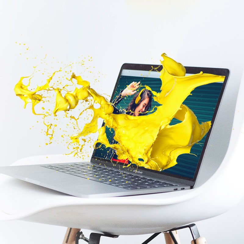 Glispa Create - Yellow Splash